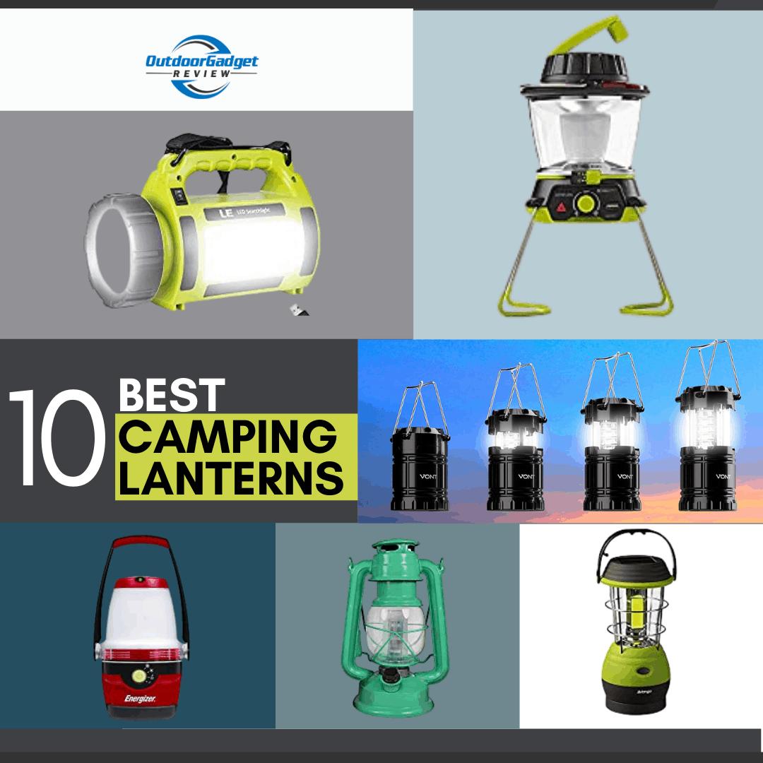 2020's Top LED Camping Lanterns Reviewed