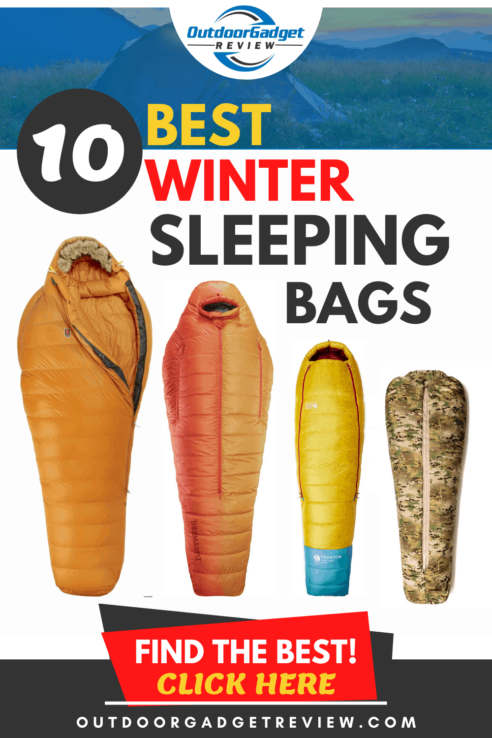 The Best Winter Sleeping Bags of 2020