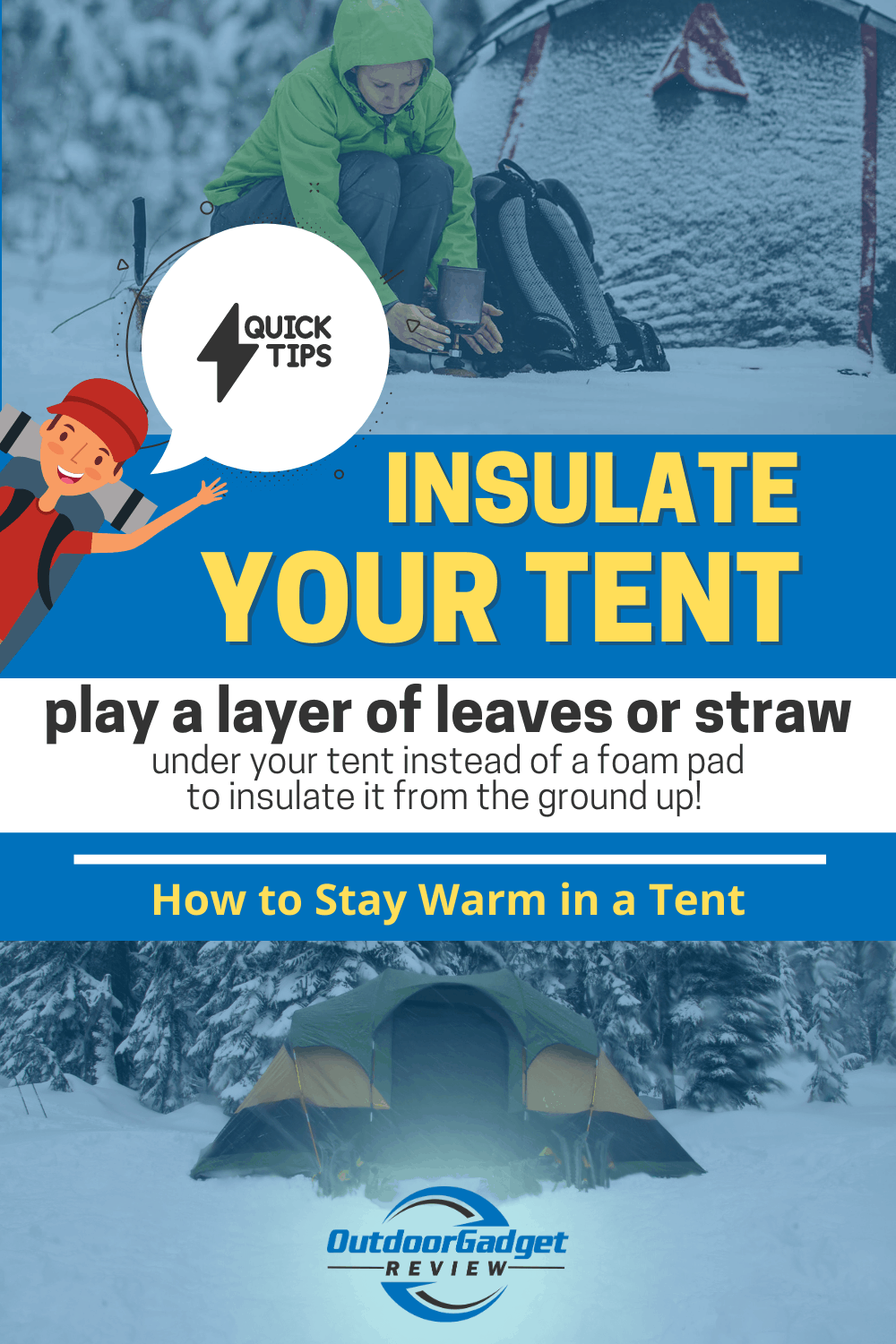 HOW TO STAY WARM IN A TENT (2)