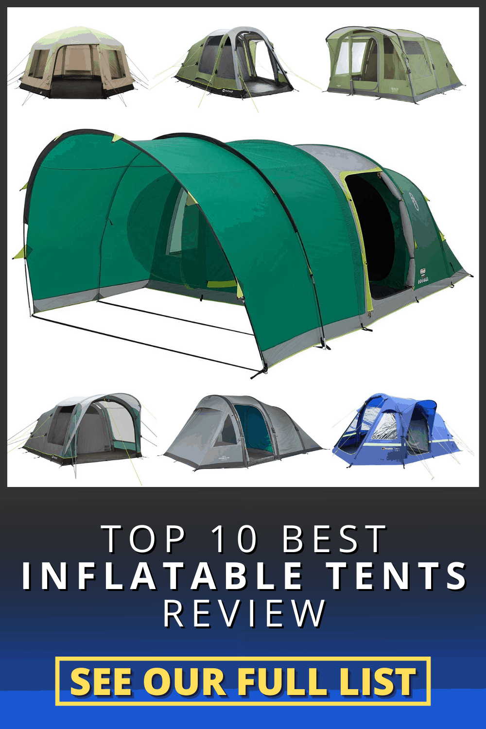 10 Best Inflatable Tents review