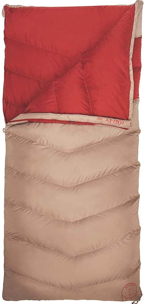 Kelty Galactic Down 30 Deg 600 Fill DriDown Backpacking and Camping Sleeping Bag for Men & Women