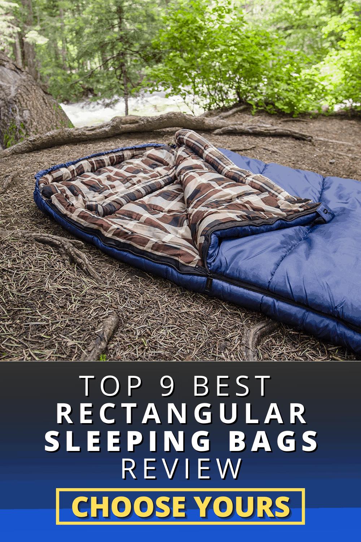 Top 9 Best Rectangular Sleeping Bags