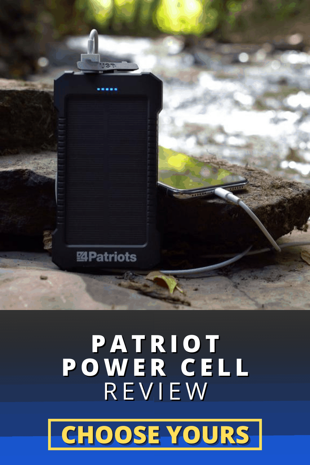 Patriot Power Cell Review