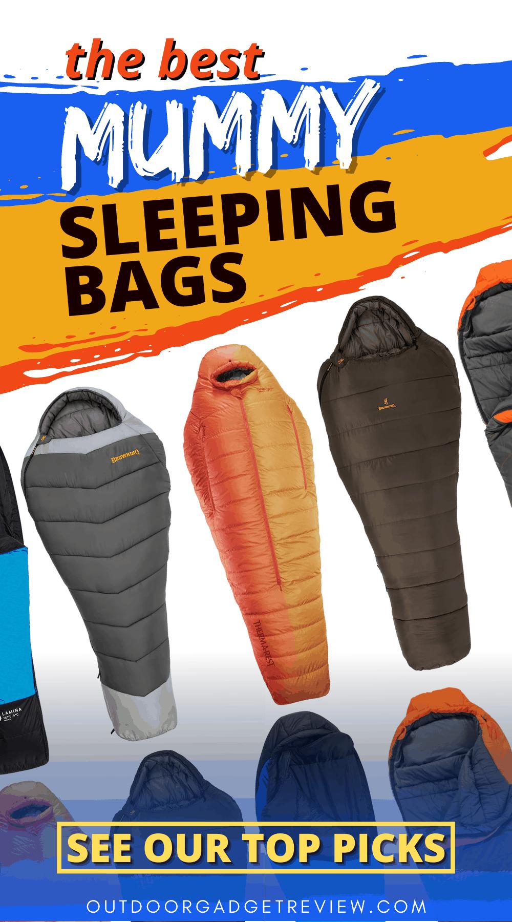 The Best Mummy Sleeping Bags