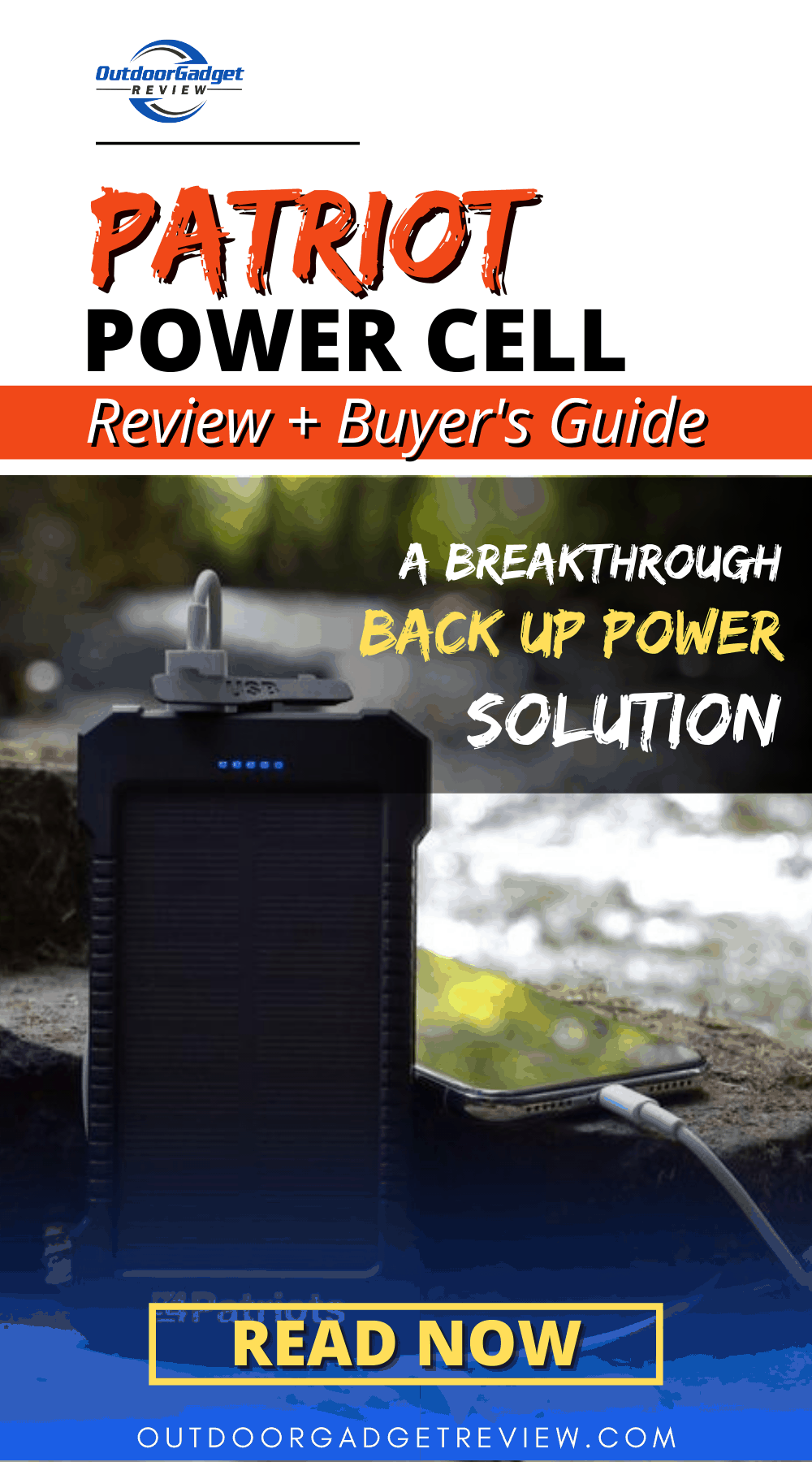 Patriot Power Cell Review - Pin