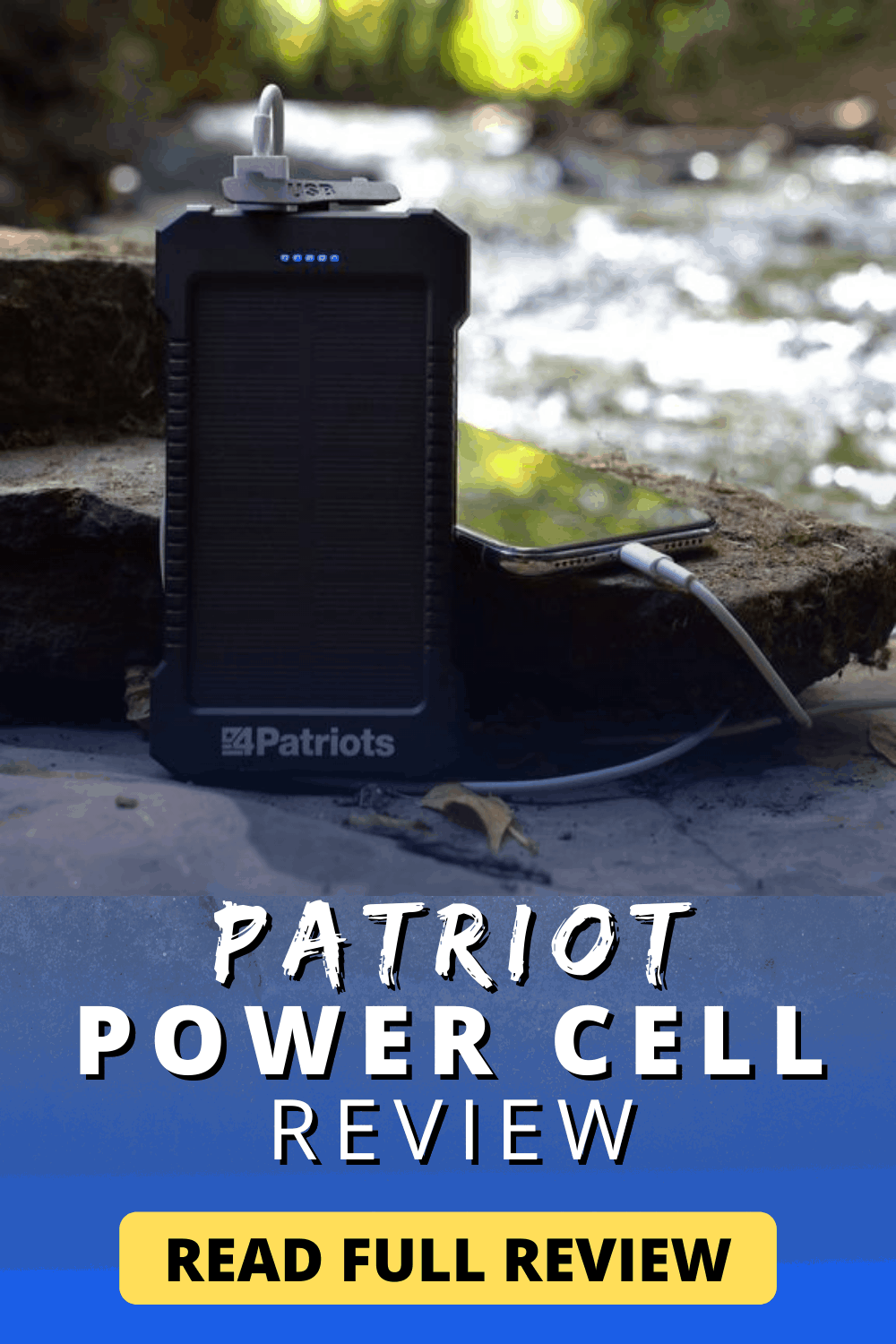Patriot Power Cell Review | Learn Now!