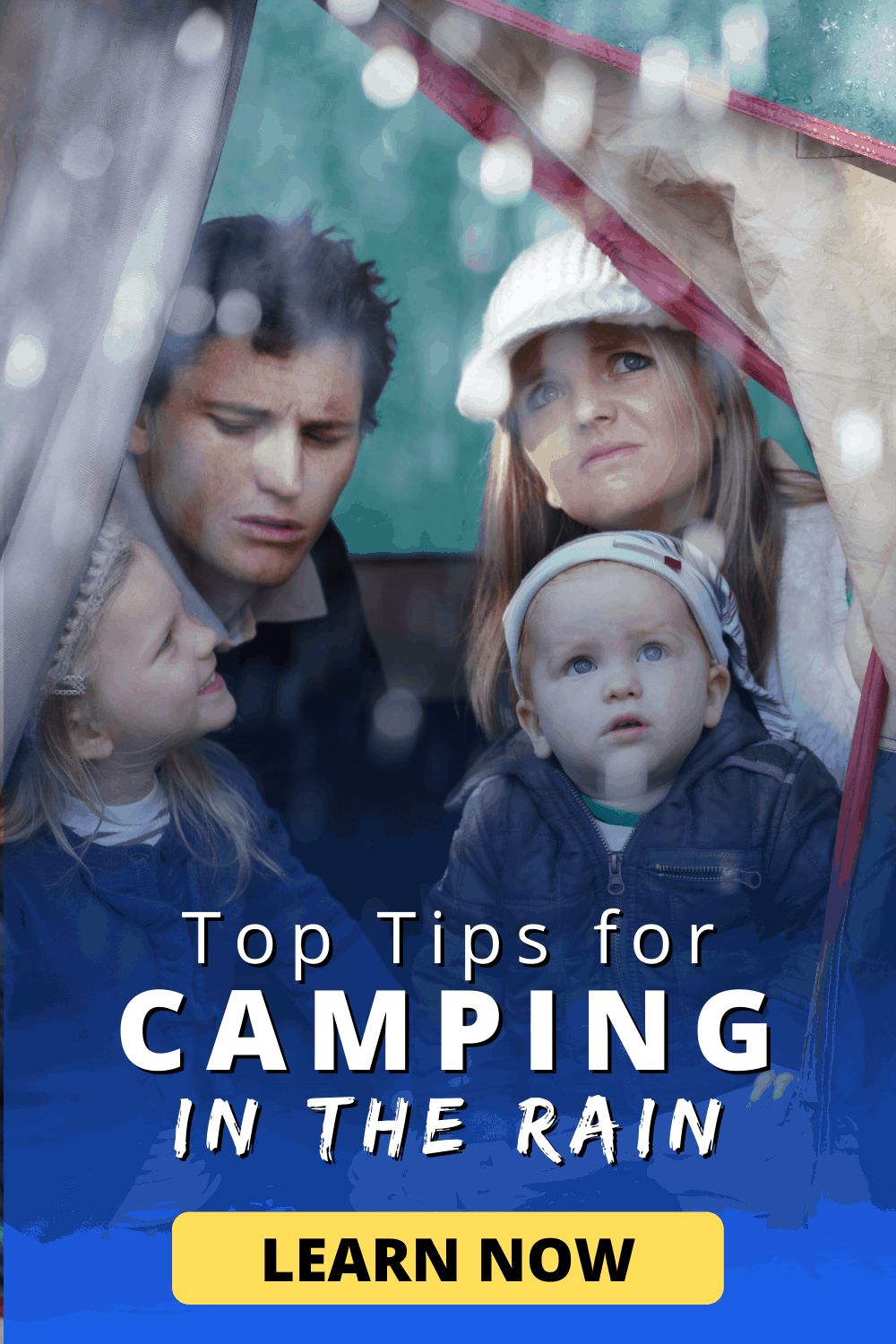 Top Tips for Camping in the Rain | Learn now!