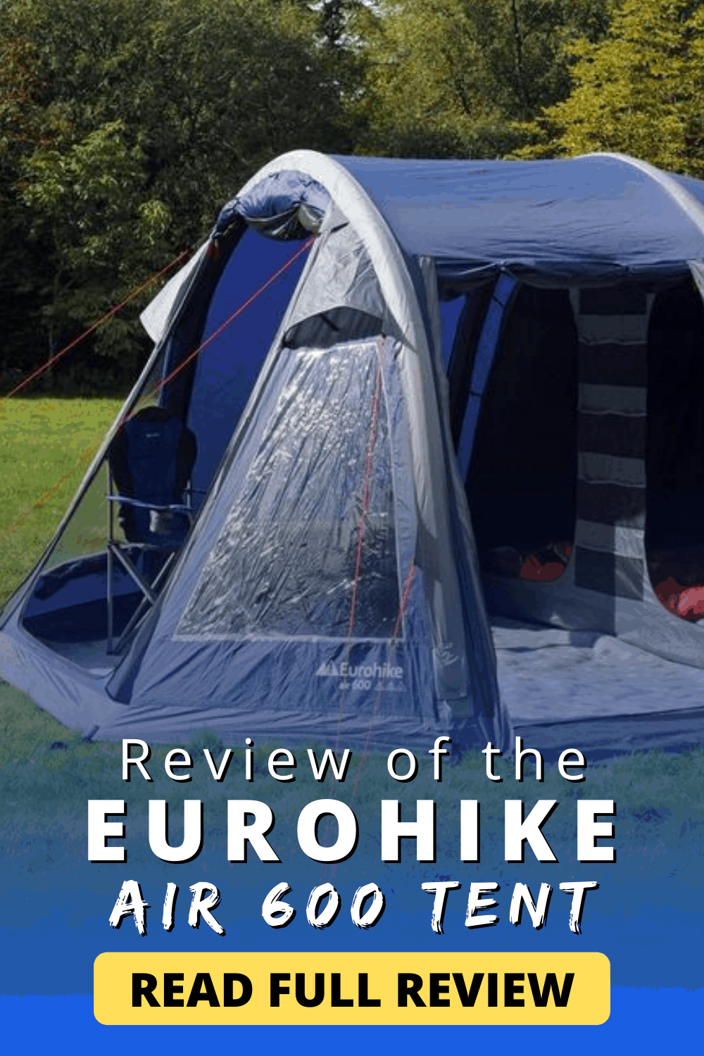 Review of the EUROHIKE Air 600 Tent | Read Now!