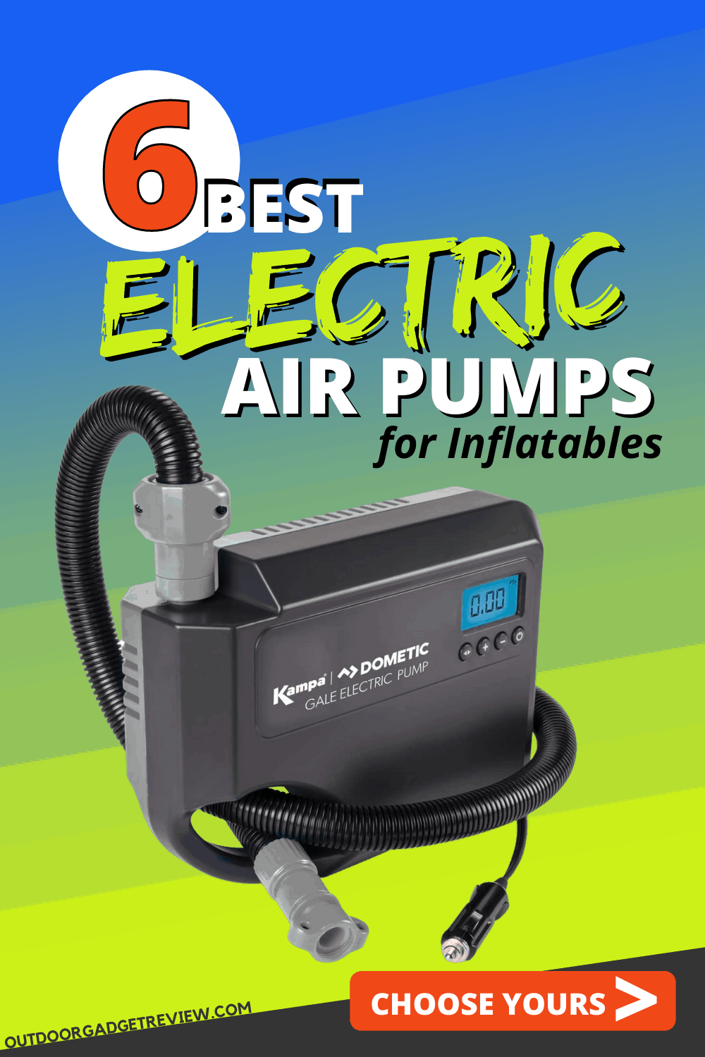 6 Best Electric Air Pumps of 2021