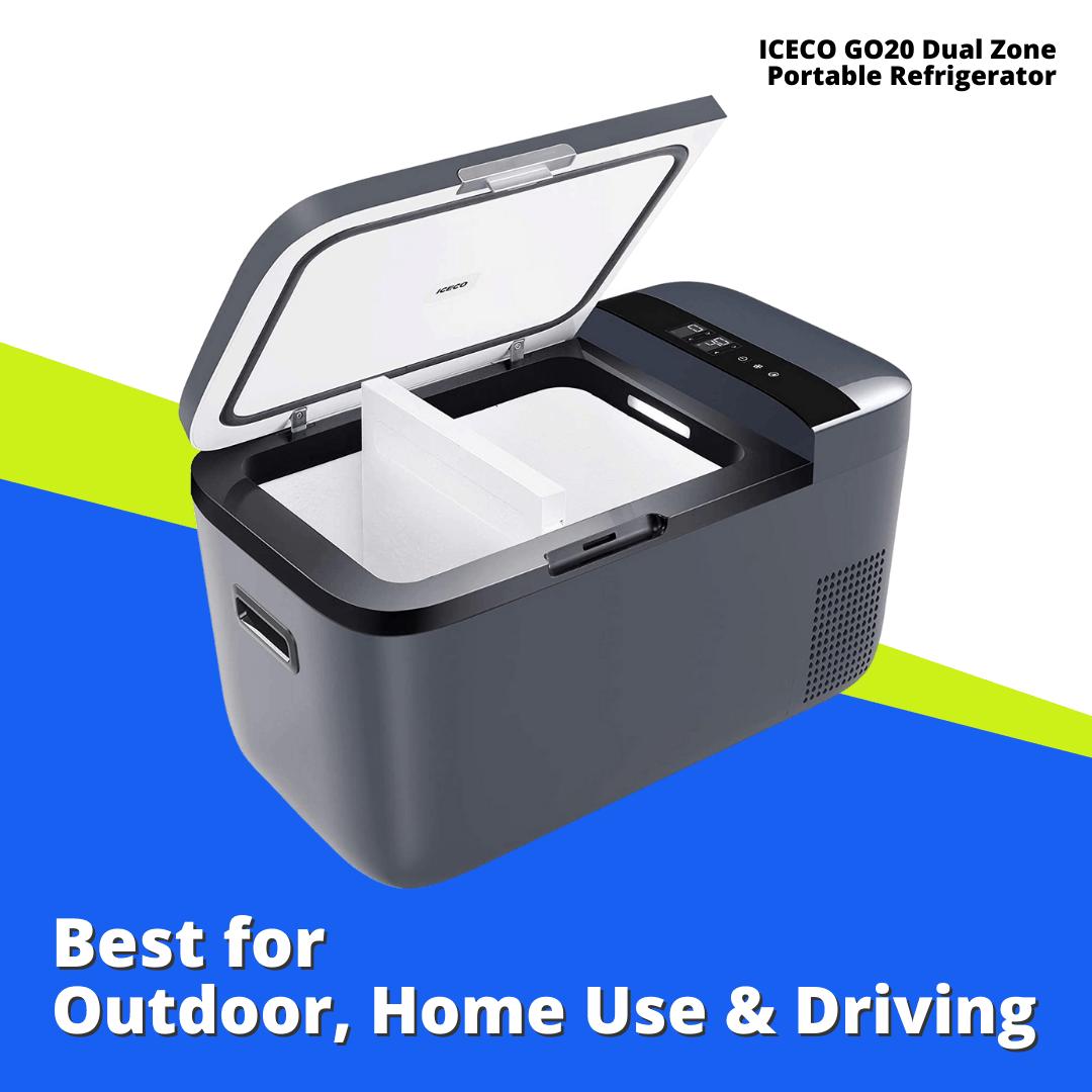 ICECO Dual Zone Portable Refrigerator