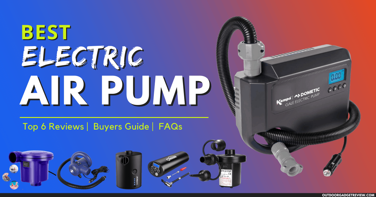 Best Electric Air Pumps of 2021