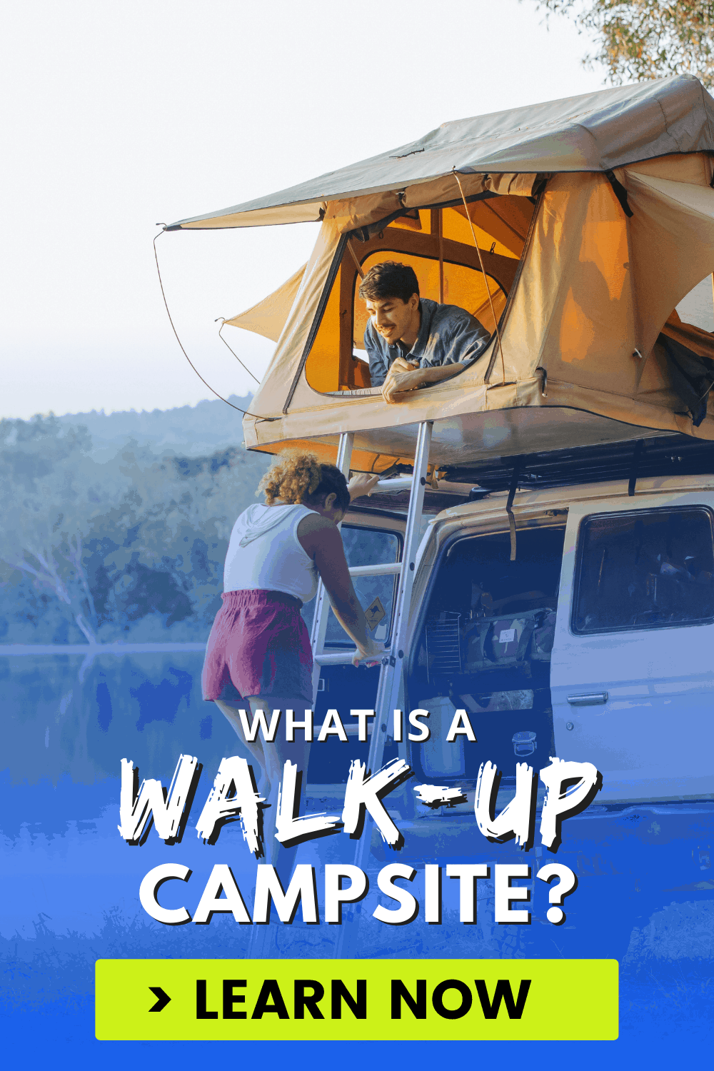 What is a Walk-up Campsite?