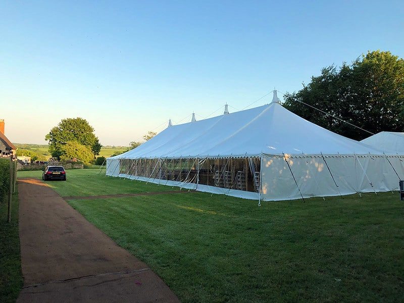Pole Marquee Tent (2)