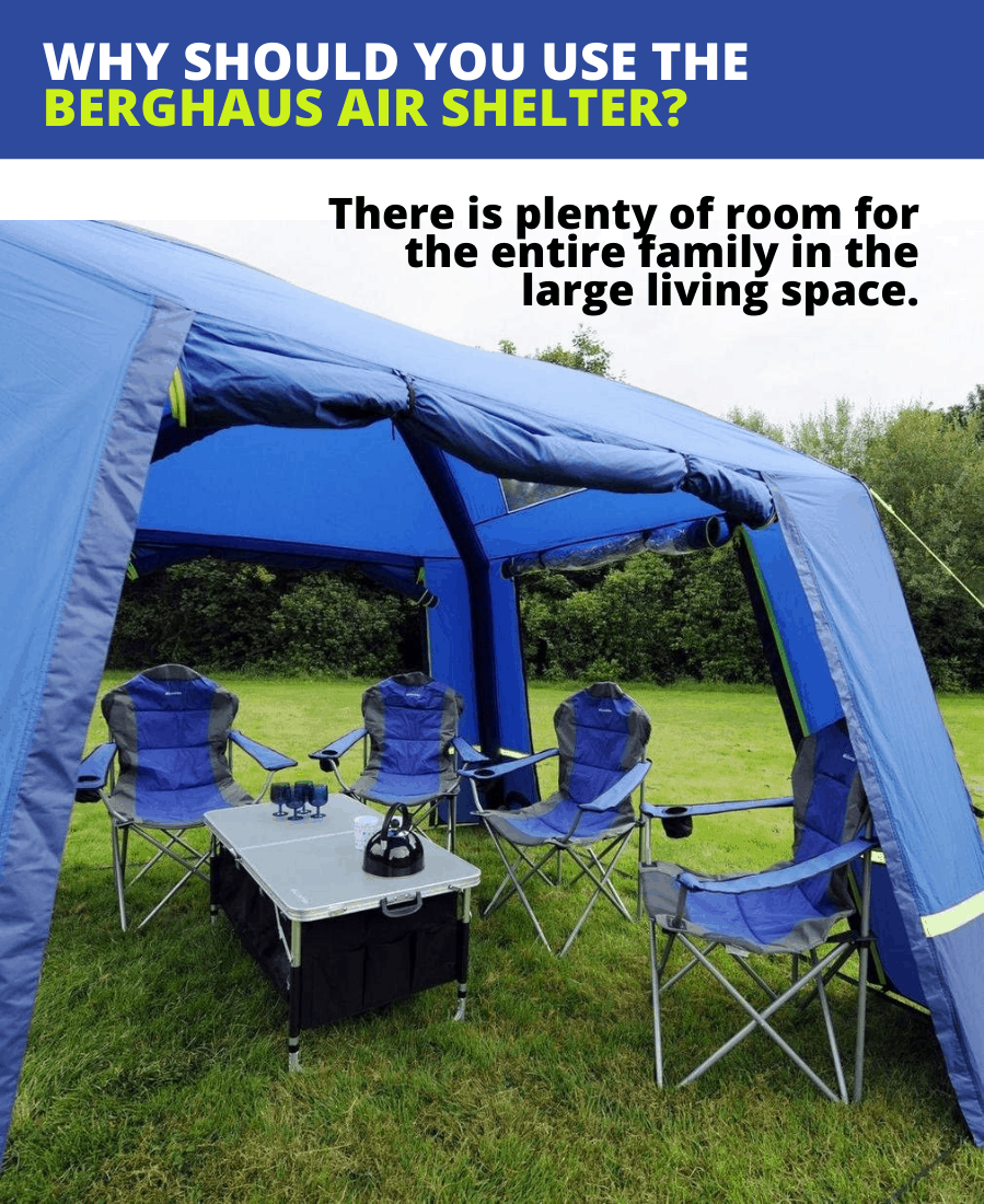 Why You Should Use the Berghaus Air Shelter